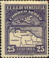Colnect-2803-258-Map-of-Venezuela-First-Series.jpg