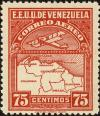 Colnect-2803-260-Map-of-Venezuela-First-Series.jpg
