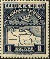 Colnect-2803-261-Map-of-Venezuela-First-Series.jpg