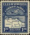 Colnect-2803-263-Map-of-Venezuela-First-Series.jpg