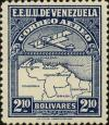 Colnect-2803-264-Map-of-Venezuela-First-Series.jpg