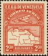 Colnect-2803-265-Map-of-Venezuela-First-Series.jpg