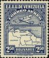 Colnect-2803-266-Map-of-Venezuela-First-Series.jpg