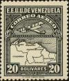 Colnect-2803-268-Map-of-Venezuela-First-Series.jpg