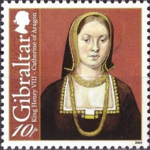Colnect-3564-349-King-Henry-VIII---Catherine-of-Aragon.jpg