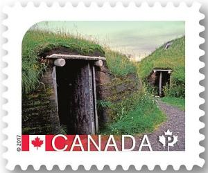 Colnect-3794-510-L-rsquo-Anse-aux-Meadows-National-Historic-Site.jpg
