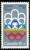 Colnect-1410-562-Symbol-of-the-Montreal-Games.jpg