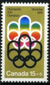 Colnect-1410-563-Symbol-of-the-Montreal-Games.jpg