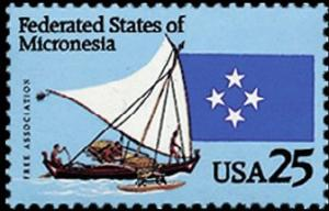 Colnect-2279-398-Federated-States-of-Micronesia---Canoe-and-Flag.jpg
