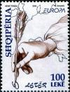 Colnect-5929-153-Hand-holding-quill-pen-and-map-of-Europe.jpg