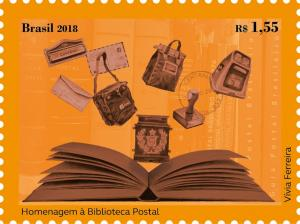 Colnect-4925-772-Tribute-to-the-Postal-Library.jpg